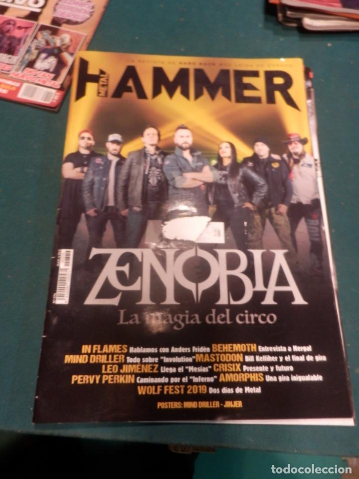 Revistas de música: METAL HAMMER Nº 371 - 372 - 376 - 377 + LA HEAVY Nº 392 - LOTE 5 REVISTAS - Foto 6 - 222051527