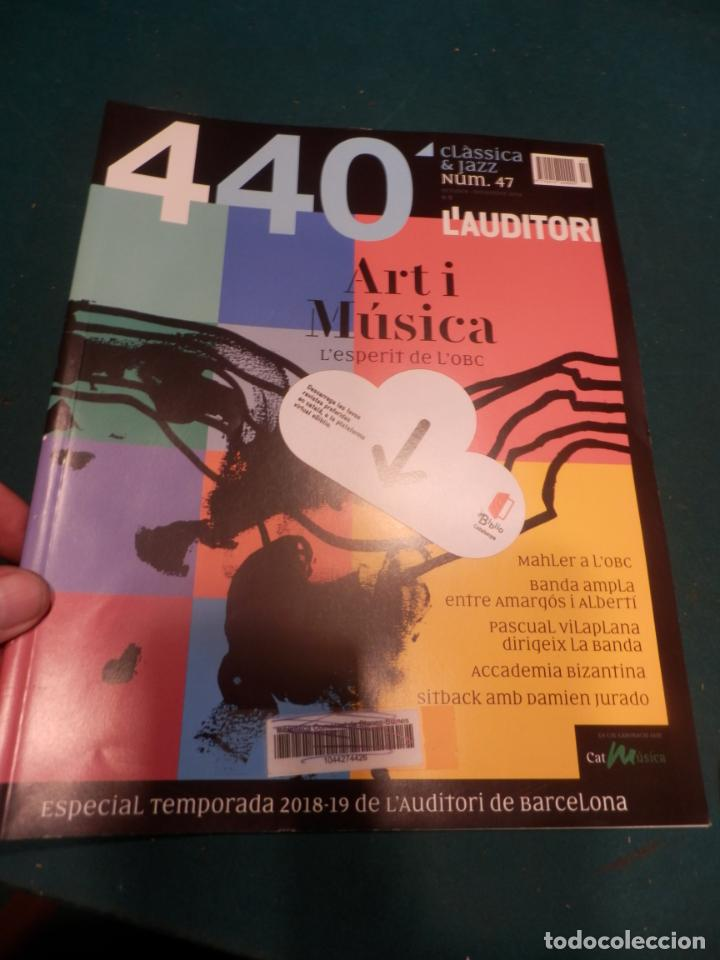 Revistas de música: 440 CLÀSSICA & JAZZ - LOTE 34 REVISTAS EN CATALÀ Nº 2-3-4-5-6-7-8-9-10-11-12-13-14-15-16-17-18-19... - Foto 32 - 65452894