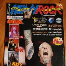 Revistas de música: HEAVY ROCK 318. METALLICA, RAGE, KISS, IRON MAIDEN, MAGO DE OZ, OBÚS, SOZIEDAD ALKOHOLIKA, PEARL JAM. Lote 222061525