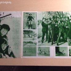 Revistas de música: BEATLES - JAPANESE CLIPPING. Lote 222185013