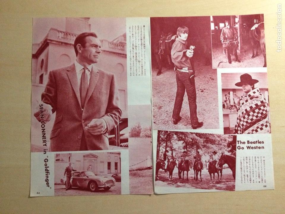 Revistas de música: BEATLES - Japanes clipping - Foto 2 - 222185108