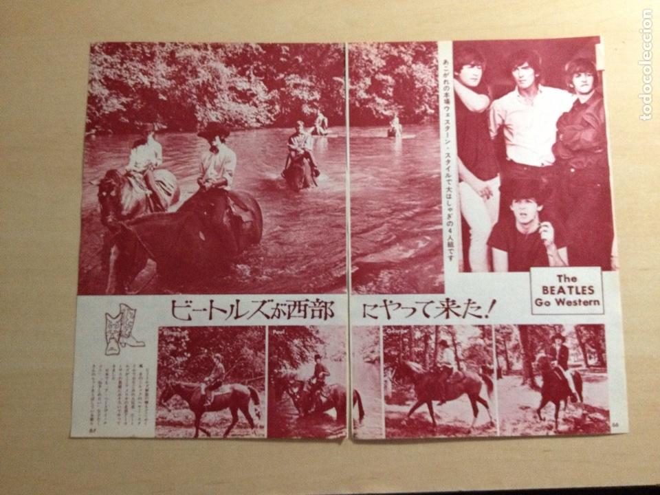 BEATLES - JAPANES CLIPPING (Música - Revistas, Manuales y Cursos)