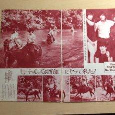 Revistas de música: BEATLES - JAPANES CLIPPING. Lote 222185108