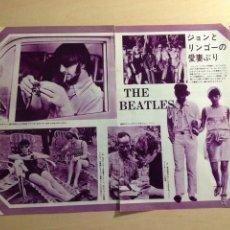 Revistas de música: BEATLES - JAPANESE CLIPPING. Lote 222185748