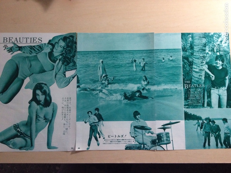 Revistas de música: BEATLES - Japanese clipping - Foto 2 - 222185948