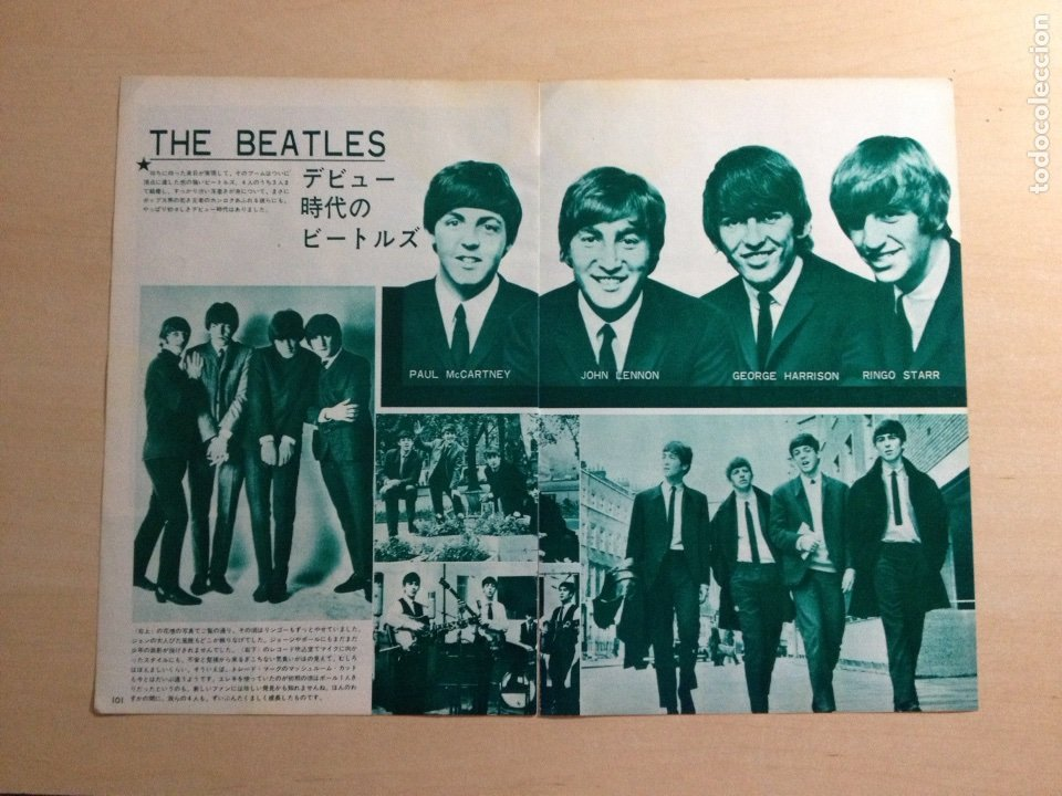 BEATLES - JAPANESE CLIPPING (Música - Revistas, Manuales y Cursos)