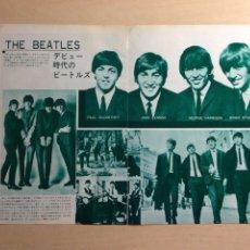 Revistas de música: BEATLES - JAPANESE CLIPPING. Lote 222185987