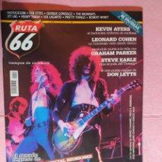 Revistas de música: MAGAZINE RUTA 66 Nº 244 - LED ZEPPELIN - STEVE EARLE - LEONARD COHEN - THE ETTES. Lote 222224140