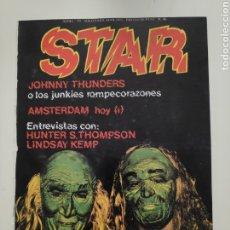Revistas de música: NT STAR 46 JOHNNY THUNDERS AMSTERDAM HOY LINDSAY KEMP HUNTER S. THOMPSON LA BANDA TRAPERA DEL RIO. Lote 222225637