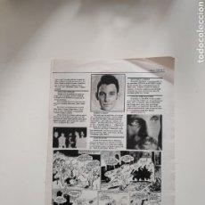 Revistas de música: NT HOJA MUSICAL EXPRES 1978 BARCELONA PUNK LA BANDA TRAPERA DEL RIO BASURA PELIGRO ROCK & ROLL DAMM. Lote 222237087