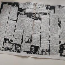 Revistas de música: NT 2 HOJAS 2 PAGINAS MUSICAL EXPRES 1977 NUEVA MAREA CONTRA LA VIEJA OLA. Lote 222237862