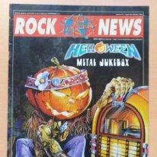 Revistas de música: ROCK NEWS NUM 13. HELLOWEEN.. Lote 222259621