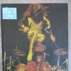Revistas de música: SAXON / SCORPIONS: MINI POSTER. Lote 222355886