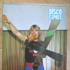 Revistas de música: OZZY OSBOURNE - AC/DC: MINI POSTER. Lote 222356001