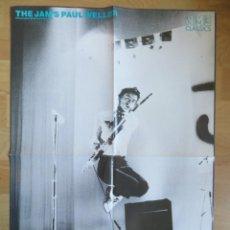 Revistas de música: THE JAM / MICK JAGGER : POSTER INGLES. Lote 222356480