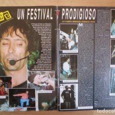 Revistas de música: EXTREMODURO : CLIPPING FESTIMAD. Lote 222357048