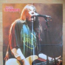 Revistas de música: BARRICADA / MOONSPELL: DOBLE POSTER GIGANTE !!. Lote 222358865