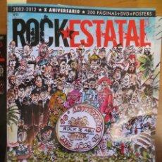 Revistas de música: ROCK ESTATAL.NUM.23-BURNING-LOQUILLO-ROSENDO-TROGLODITAS-MEDINA AZAHARA-TXARRENA-LOS SUAVES-. Lote 222396630