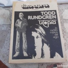 Revistas de música: DISCO EXPRES Nº 320, 1975, TODD RUNDGREN, GUESS WHO, JONESY, SUPERTRAMP,RAIMON,. Lote 222417325
