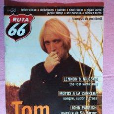 Riviste di musica: MAGAZINE RUTA 66 Nº 153 - TOM PETTY - WALKABOUTS - GIGOLO AUNTS - SEX MUSEUM - PULMON. Lote 222436581