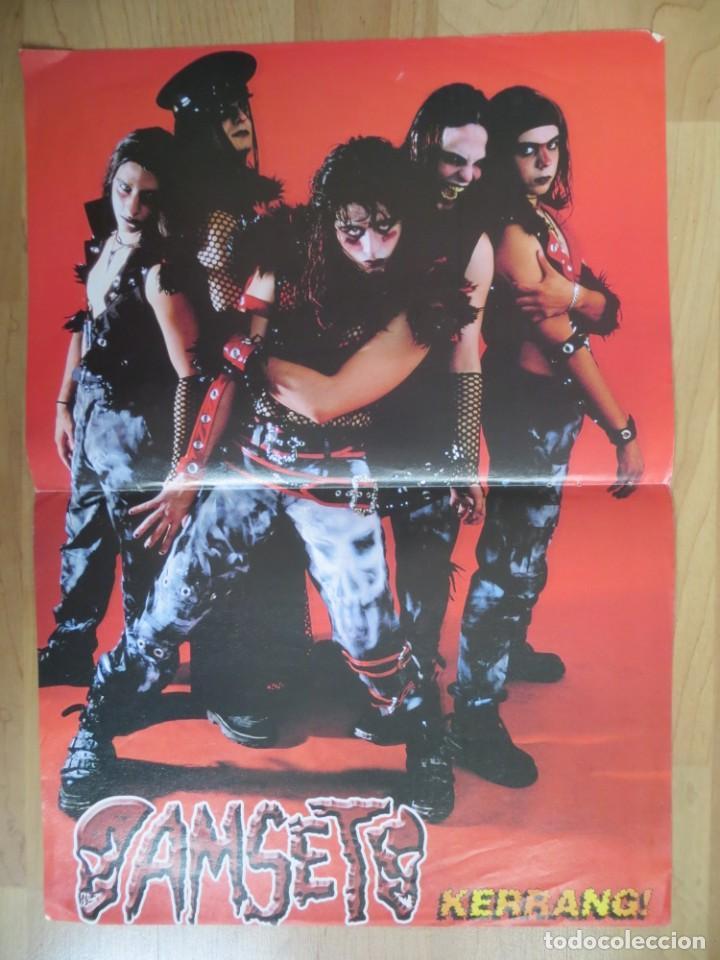 Revistas de música: RAMMSTEIN / AMSET: POSTER - Foto 2 - 288141608