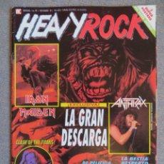 Magazines de musique: HEAVY ROCK:N.87-IRON MAIDEN-ANTHRAX-BON JOVI-AC/DC-ÑU-OBUS-LEGION. Lote 223961670