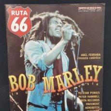 Riviste di musica: RUTA 66 Nº 125 BOB MARLEY,ILEGALES,DOCTOR EXPLOSION,BLUE OYSTER CULT,ABEL FERRARA,MARSHALL CRENSHAW. Lote 224125585