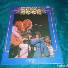 Revistas de música: HISTORIA DE LA MUSICA ROCK. FASCICULO Nº 62. CONTRAPORTADA : THE BEATLES. Lote 224153313