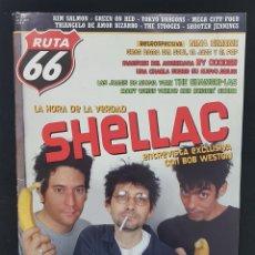 Revistas de música: RUTA 66 Nº 237 SHELLAC,NINA SIMONE,RY COODER,SHANGRI-LAS,THE STOOGES,GREEN ON RED,TRIANGULO AMOR BIZ. Lote 224203260