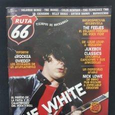Revistas de música: RUTA 66 Nº 240 WHITE STRIPES,ROCKEA OVIEDO,NICK LOWE,SOLOMON BURKE,SR CHINARRO,FEELIES,BILLY BRAGG. Lote 224210943