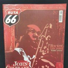 Revistas de música: RUTA 66 Nº 241 DEVO ENTREVISTA,JOHN COLTRANE,13TH FLOOR ELEVATORS,RICKIE LEE JONES,HOEY & MUSSLES. Lote 224212695