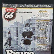 Revistas de música: RUTA 66 Nº 332 BRUCE SPRINGSTEEN,SMASH FLAMENCO ROCK,TOM JONES,THE ZOMBIES,DELTONOS,KEROUAC,BURNING. Lote 224220527