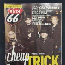Revistas de música: RUTA 66 Nº 349 CHEAP TRICK,ALEX HARVEY,JACK DOUGLAS,SONIC'S RENDEVOUS,BLACK ANGELS,DANI NEL.LO. Lote 224274048