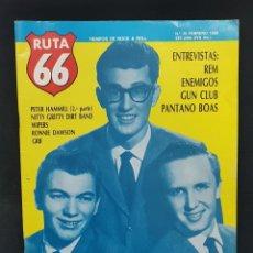 Revistas de música: RUTA 66 Nº 26 BUDDY HOLLY,LOS ENEMIGOS ENTREVISTA,PANTANO BOAS,REM,GUN CLUB,WIPERS,RONNIE DAWSON. Lote 224392548