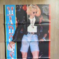 Magazines de musique: MADONNA / GEORGE MICHAEL: POSTER GIGANTE- SUPER TEEN. Lote 225015861