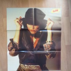 Magazines de musique: MADONNA / ROB LOWE: POSTER GIGANTE- SUPER TEEN. Lote 225016063