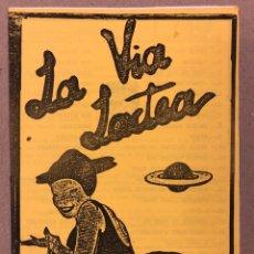 Revistas de música: LA VÍA LÁCTEA N° 2 (MADRID 1984). HISTÓRICO FANZINE ORIGINAL MOVIDA MADRILEÑA; LOQUILLO, GLUTAMATO. Lote 246501345