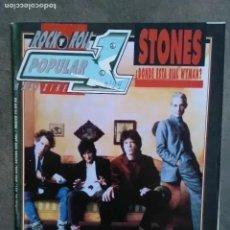 Revistas de música: POPULAR 1 NUM 251 ROLLING STONES, RAGE AGAINST THE MACHINE. PANTERA. BEASTIE BOYS. PRIMAL SCREAM.. Lote 225169543