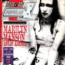 Riviste di musica: REVISTA POPULAR 1 NUMERO 278 MARYLIN MANSON. Lote 225234665