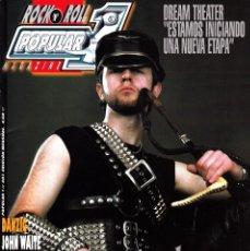 Magazines de musique: REVISTA POPULAR 1 NUMERO 407 JUDAS PRIEST. Lote 225242030