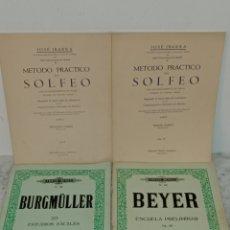 Revistas de música: ANTIGUOS METODOS DE SOLFEO PIANO. Lote 225280301