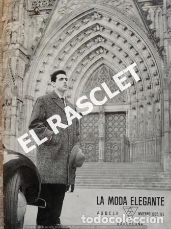 ANTIGUA REVISTA - LA MODA ELEGANTE - INVIERNO 1962 - 63 - (Música - Revistas, Manuales y Cursos)