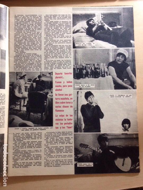 Revistas de música: BEATLES - REPORTAJE EN EXCLUSIVA DE LA VISITA A BARCELONA 03 JULIO 1965 ------REVISTA ONDAS NUM. 303 - Foto 8 - 225633560
