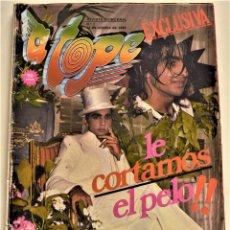 Revistas de música: REVISTA MUSICAL A TOPE Nº 1 AÑO 1980 - PORTADA ANTONIO FLORES - CAMILO SESTO - JUAN CARLOS NAYA. Lote 226037450