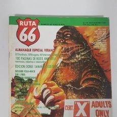 Revistas de música: RUTA 66 Nº 20.INFORME ROCK SUECO.BEACH MOVIES.CALIFORNIA DREAMIN.MAR BOLAN.SINIESTRO TOTAL.POGUES. Lote 226871080
