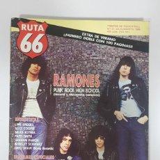 Revistas de música: RUTA 66 Nº 31. RAMONES.ALICE COOPER.PATTI SMITH.DOSSIER DOO WOP.GRAHAM PARKER.MARVIN GAYE.MOJADOS. Lote 226965585