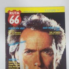 Revistas de música: RUTA 66 Nº 34. DESECHABLES.LOS FLECHAZOS.RADIO BIRDMAN HITMEN.YO LA TENGO.COSMIC PSYCHOS.NICO.ALMOND. Lote 226980260