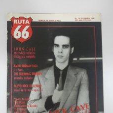 Revistas de música: RUTA 66 Nº 35. SEX MUSEUM.NICK CAVE.THE PIXIES.JOHN CALE,RADIO BIRDMAN.ROCK EUSKADI.SURF PUNKS. Lote 226984147