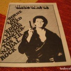 Riviste di musica: REVISTA DISCO EXPRES Nº 404 LOU REED EDDIE VINSON BEATLES NADAL ROCK 1976. Lote 228002650