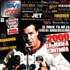 Revistas de música: REVISTA HEAVY ROCK ESPECIAL NÚMERO 99. Lote 228088950